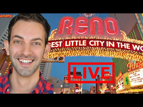 🔴LIVE STREAM at 8ish in Reno Casino ✦ Gambling with Brian Christopher at GSR