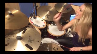 'Rope' by Foo Fighters: Sophie Alloway drum cover (2021).