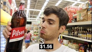 COSTA RICAN SUPERMARKET - Cost of Living in Costa Rica | Day 7