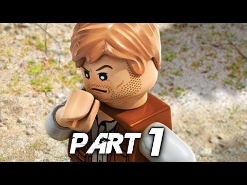 LEGO Jurassic World Video Game Walkthrough Gameplay Part 1 - Prologue (PS4)