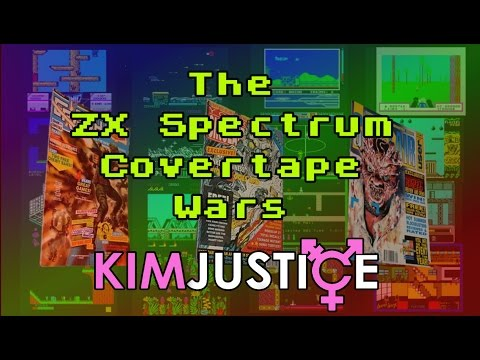 The ZX Spectrum Magazine Covertape Wars (+ The Best Covertape Games) - Kim Justice