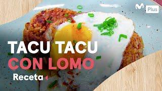 Receta peruana: Tacu tacu relleno de lomo saltado | Cocina en un Toque
