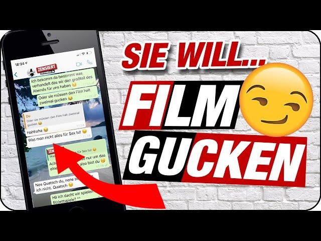 SIE KLÄRT IHN ZUM DVD ABEND 📺😏 | Chat Analyse Win mit Flirttipps