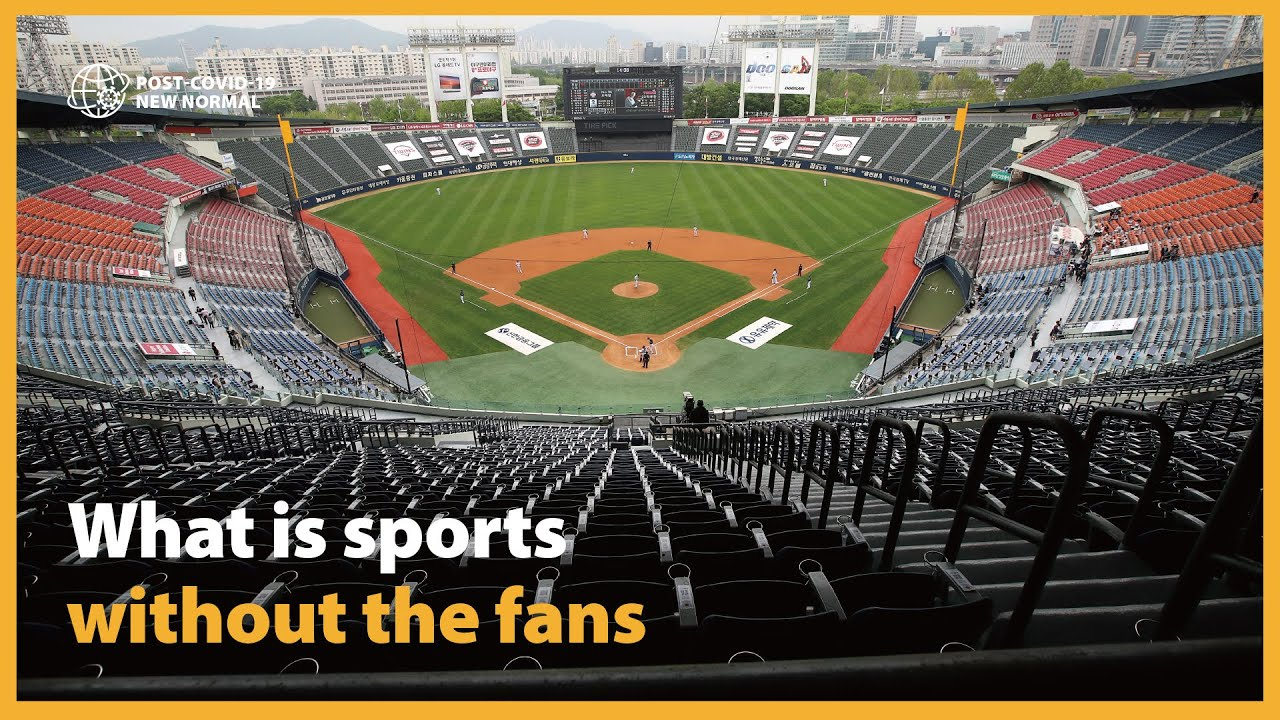 What is sports without the fans |무관중 경기가 바꾼 K스포츠