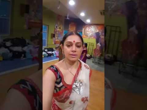 നടി ശോഭനയുടെ ഫേസ്ബുക് ലൈവ് വീഡിയോ | Shobana facebook live video