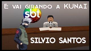 And it's spinning my KUNAI-Silvio Santos (ROBLOX version)