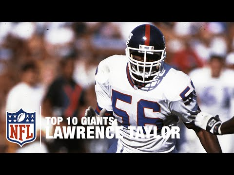 Top 10 Giants: Lawrence Taylor | NFL