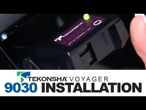 Tekonsha Voyager 9030 Brake Controller Installation - YouTubeYouTube