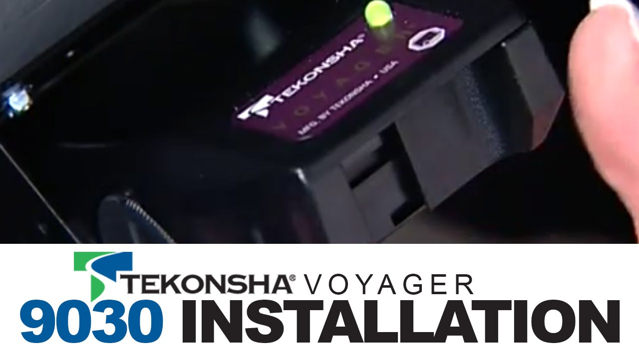 tekonsha voyager 9030 brake controller installation youtube