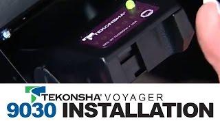 Tekonsha Voyager 9030 Brake Controller Installation - YouTube | Voyager Xp Brake Controller Wiring Diagram |  | YouTube