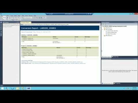 SSIS Migration Process from SQL Server 2008 to SQL Server 2012