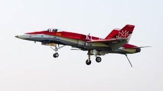 RCAF 34 Canada 150th 34 CF 18 F18 Performance