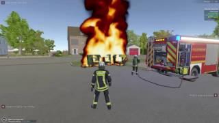 Emergency 112 The Firefighting Simulation - Wastebin Fire