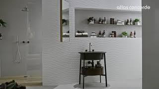 3D Wall Design   Twist texture   Atlas Concorde