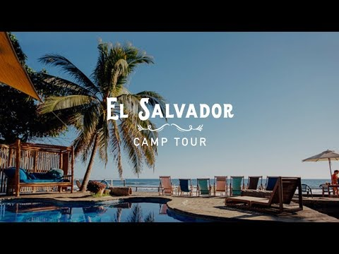 El Salvador Bodyboard-Holiday - A tour of the camp