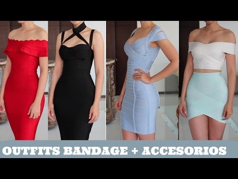 1f40c5349 OUTFITS BANDAGE + ACCESORIOS