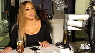 Gambar cover Mariah Carey On New Album Caution and Christmas Plans