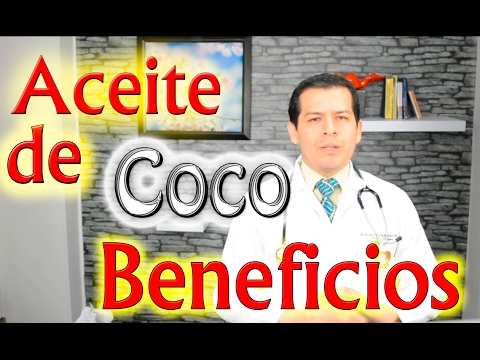 Beneficios del Aceite de Coco, video 794 Dr Javier E Moreno