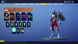 Fortnite 6.22 Leaked Skin Showcase