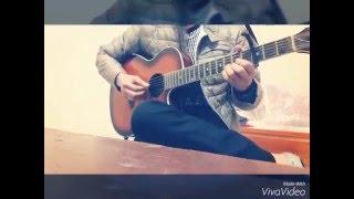 Buông tay lặng im- cover guitar