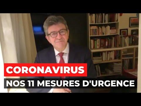 CORONAVIRUS - Nos 11 mesures d'urgence