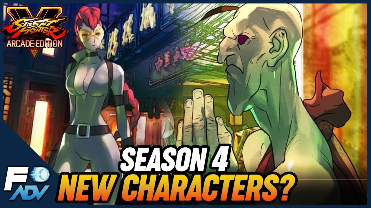 New Characters For Season 4 Street Fighter 5 Arcade Edition Youtube
