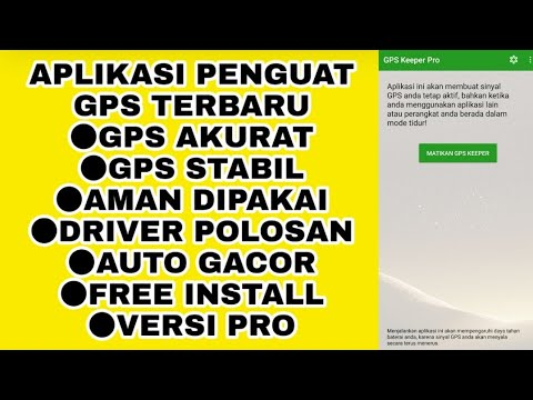 Aplikasi Penguat Sinyal Gps Terbaik 2021 Untuk Ojek Online Gps Keeper Pro Gojek Grab Gacor Youtube
