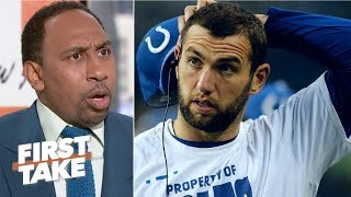 Colts fans were justified in booing Andrew Luck - Stephen A. | First Take