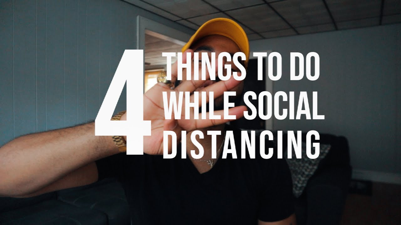 Staying CREATIVE while SOCIAL DISTANCING