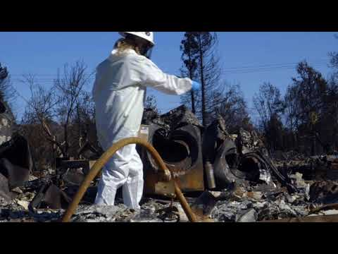 U.S. Army Corps of Engineers Phase 2 of debris removal and clean up after California wildfires