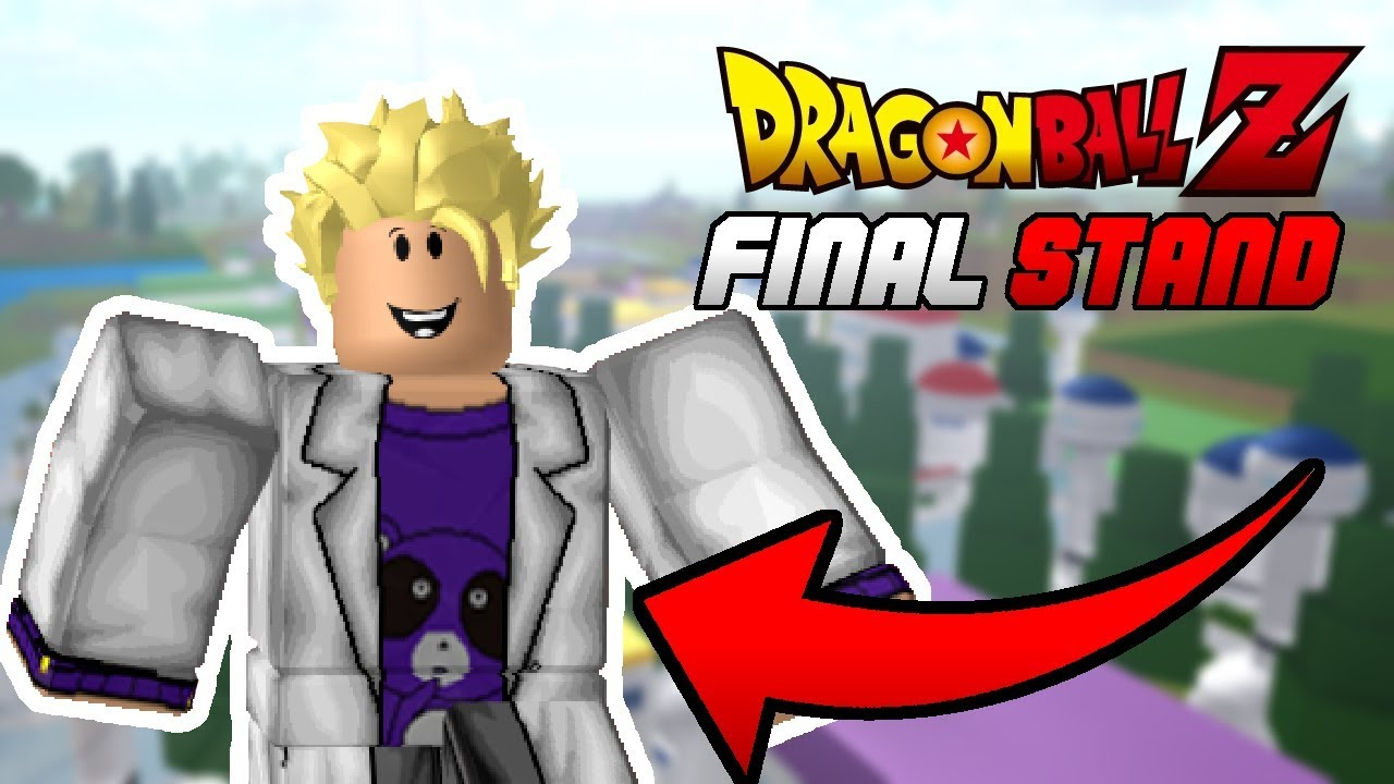 MY CLOTHING IS IN DRAGON BALL Z FINAL STAND!! *BUT   * | Roblox | Dragon  Ball Z Final Stand