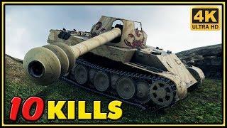 Rheinmetall Skorpion G - 10 Kills - World of Tanks Gameplay - 4K Video