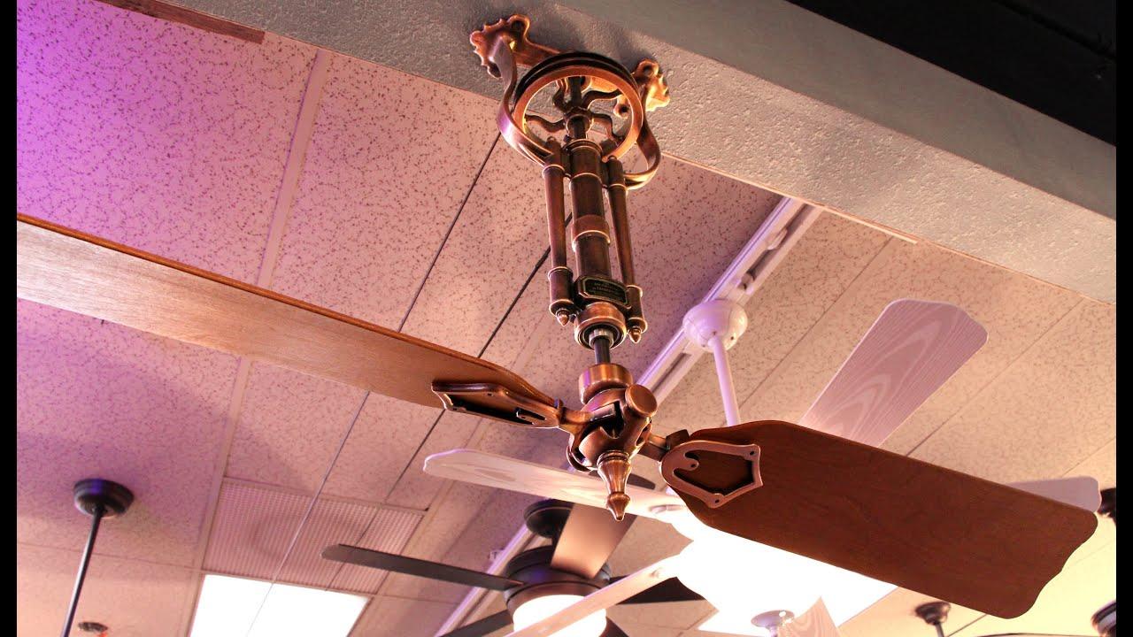 Fanimation Brewmaster Ceiling Fan  YouTube