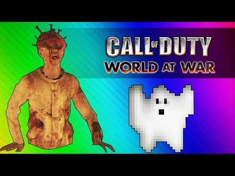 Thumbnail: Giant Baby Zombie! (Call of Duty WaW Zombies Custom Maps, Mods, & Funny Moments)