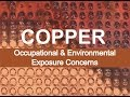 Copper - Occupational & Environmental Exposure Concerns