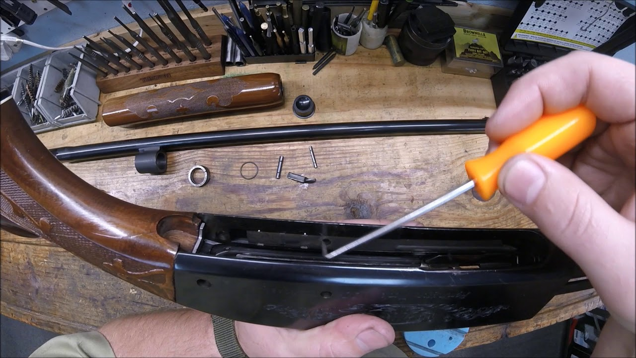 Remington 1100 disassembly and reassembly