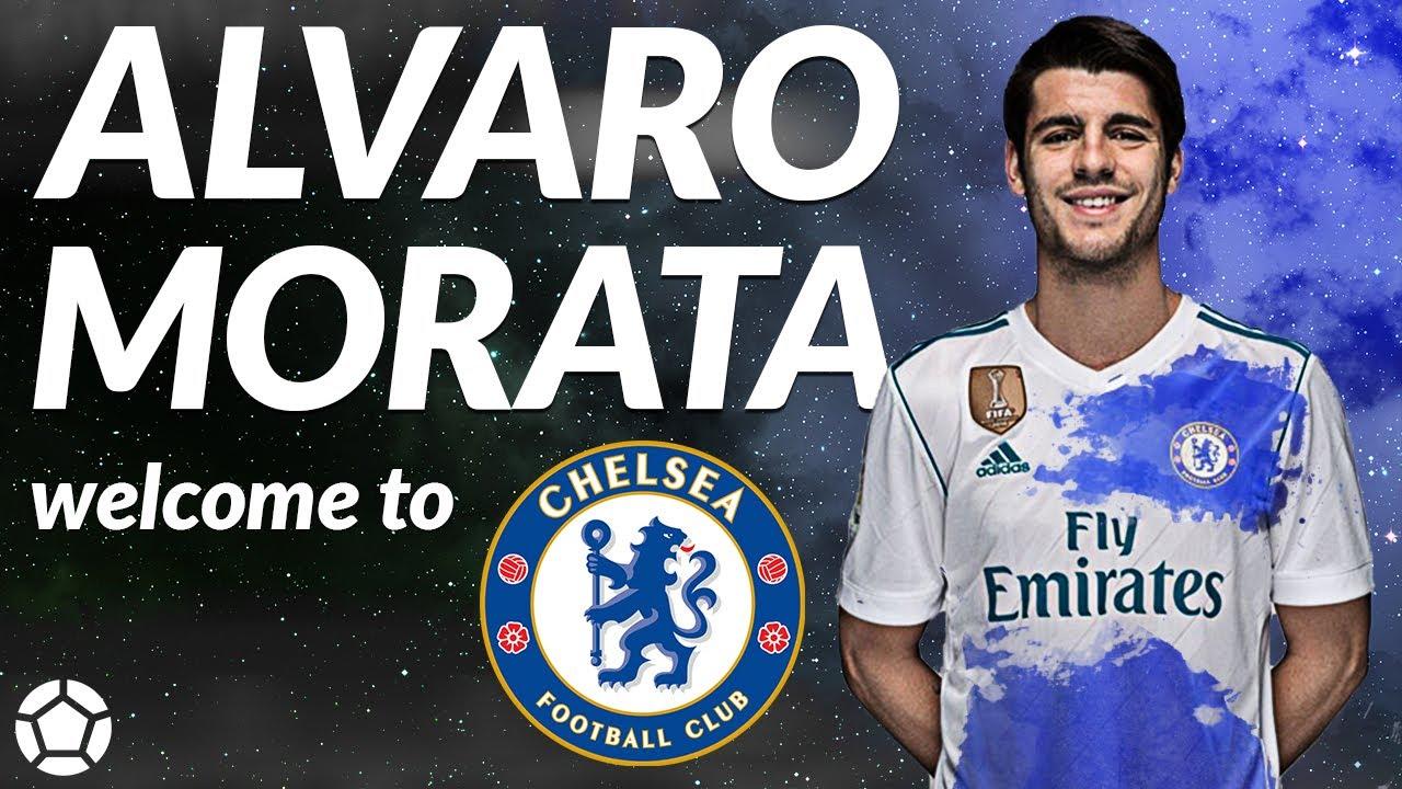 super popular f6f9b c49d2 Alvaro Morata 🔥 Welcome to Chelsea 🔥 2017 ● 4K