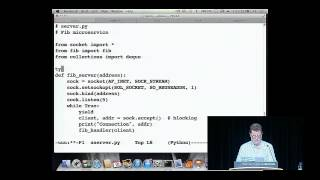 David Beazley - Python Concurrency From the Ground Up: LIVE! - PyCon 2015