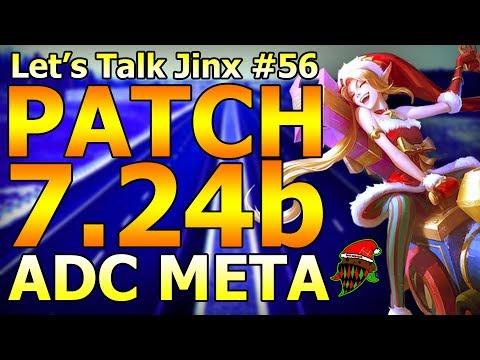 Let's Talk Jinx #56: NEW 7.24b ADC Meta Changes! League Of Legends