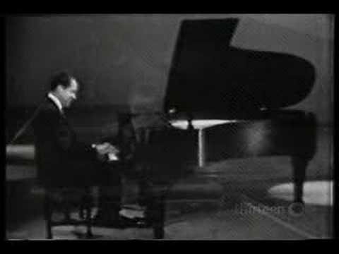 Richard Nixon plays his Piano Concerto #1