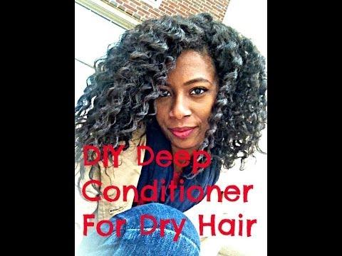 DIY Deep Condition: Dry Hair Remedy