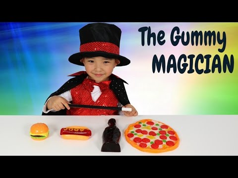 Thumbnail: The Gummy Magician Turning Gummy Candy Into Giant Gummy Kids Magic Show Ckn Toys