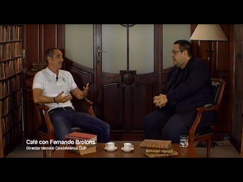 Café con... Fernando Brotons, director técnico de Costa Blanca Cup