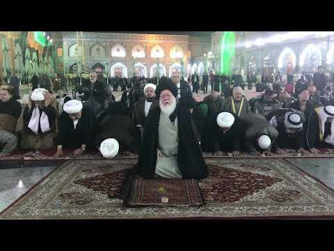 4 12 2019 صلاة المغرب للمرجع الصدر في العتبة الكاظمية المقدسة