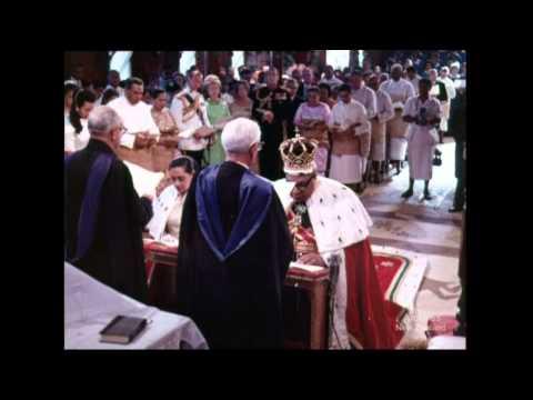 Coronation of King Taufa 'ahau Tupou IV