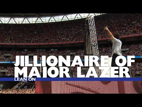 Jillionaire of Major Lazer - 'Lean On' (Summertime Ball 2016)
