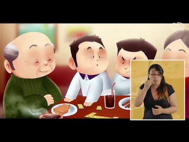 Pichintún | Rodrigo y Cristóbal, niños crianceros | Lengua de señas