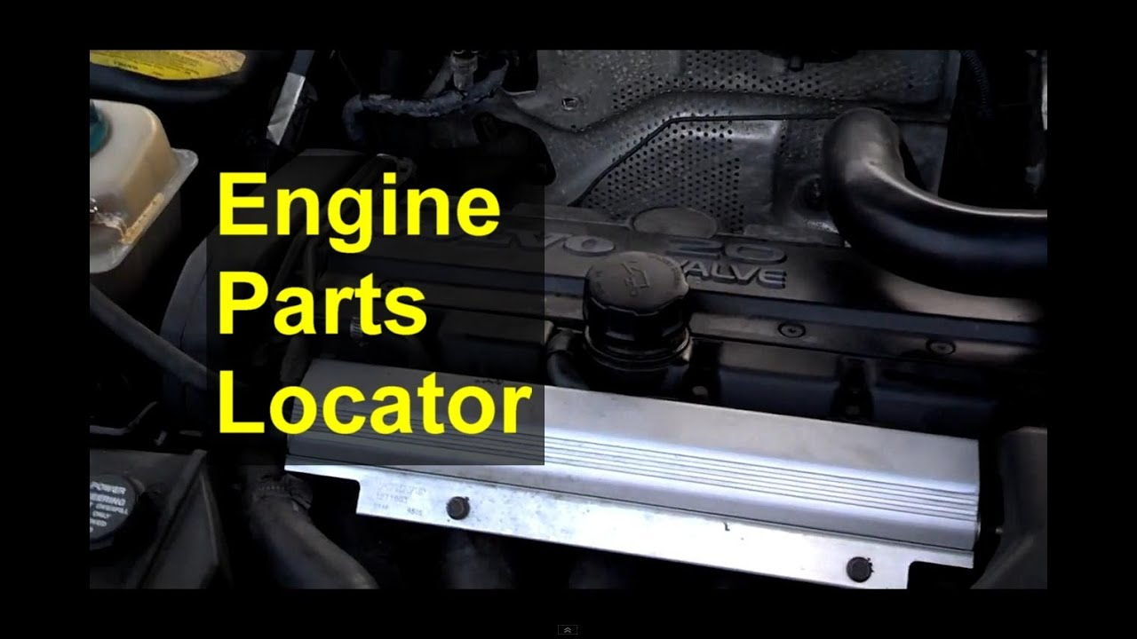 Engine Component Locator Show And Tell For The Volvo 850 S70 V70 1993 Diagram Auto Information Series