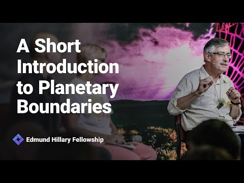 Introduction To Planetary Boundaries - New  Frontiers 2019