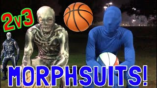 Playing 2v3 in MORPH SUITS!